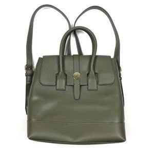 Anne Klein Convertible Olive Green Backpack Purse